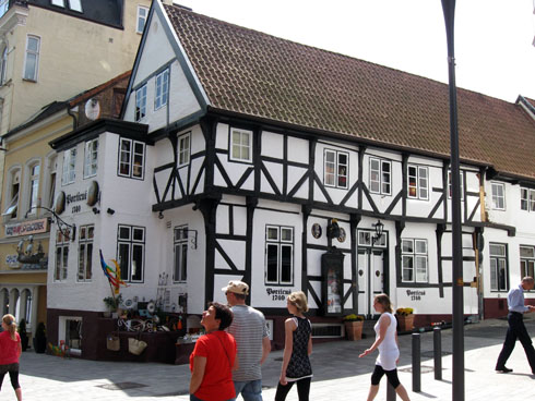 Gågaden i Flensborg