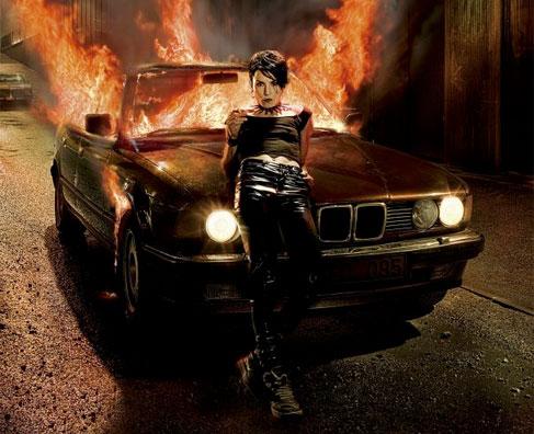 Pigen der legede med ilden