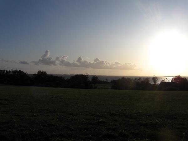 Solnedgang i Faaborg